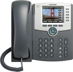 Telefon IP Cisco SPA525G2 cu Display Color PoE 802.11g Bluetooth Telefoane