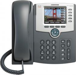 Telefon IP Cisco SPA525G2 cu Display Color PoE 802.11g Bluetooth Telefoane