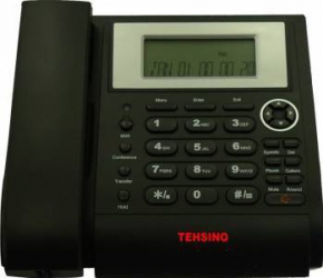 Telefon IP Tehsino TVP-2208 Black Telefoane