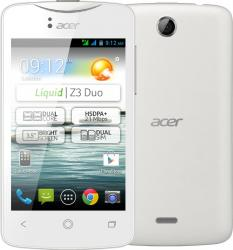 imagine Telefon Mobil Acer Liquid Z3 Duo White acz3dwht