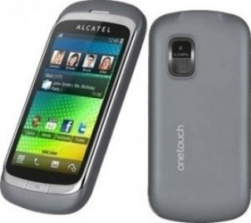 imagine Telefon Mobil Alcatel 818D Dual SIM Steel Gray alc818dsg