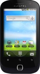 imagine Telefon Mobil Alcatel OT-990 Black. atot990bk_resigilat