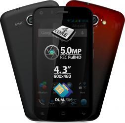 imagine Telefon Mobil Allview A5 Quad Black a5 quad