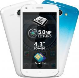 imagine Telefon Mobil Allview A5 Quad White a5 quad w