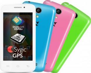 Telefon Mobil Allview A5 Smiley Dual SIM White Telefoane Mobile
