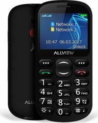 Telefon Mobil Allview D1 Senior Dual Sim Black Telefoane Mobile