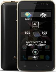 Telefon Mobil Allview P41 eMagic 8GB Dual Sim Black-Gold Telefoane Mobile