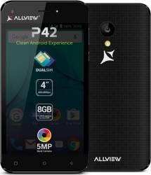 Telefon Mobil Allview P42 Dual Sim Black Telefoane Mobile