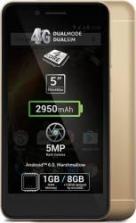 Telefon Mobil Allview P6 Energy Mini Dual Sim 4G Gold Telefoane Mobile