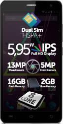 Telefon Mobil Allview P6 Qmax Dual SIM Black