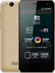 Telefon Mobil Allview P8 Life Dual Sim Gold Telefoane Mobile