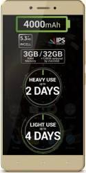 Telefon Mobil Allview P9 Energy Lite 32GB Dual SIM 4G Gold Telefoane Mobile