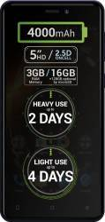 Telefon Mobil Allview P9 Energy Mini 16GB Dual Sim 4G Blue