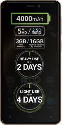 Telefon Mobil Allview P9 Energy Mini 16GB Dual Sim 4G Gold Telefoane Mobile