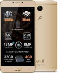 Telefon Mobil Allview X3 Soul Plus Dual Sim Gold
