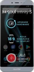 Telefon mobil Allview X4 Soul Infinity S 16GB Dual SIM 4G Steel Gray Telefoane Mobile