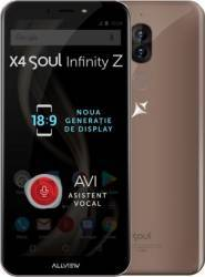 Telefon mobil Allview X4 Soul Infinity Z 32GB 4G Dual Sim Mocha Gold Telefoane Mobile