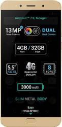 Telefon Mobil Allview X4 Soul LITE4 32GB 4G Dual Sim Gold Telefoane Mobile