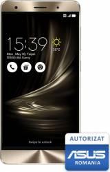 Telefon Mobil Asus Zenfone 3 ZS570KL 256GB Dual Sim 4G Glacier Silver (Autorizat Asus Romania)
