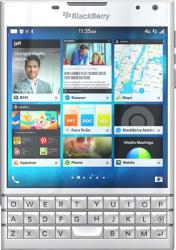Telefon Mobil BlackBerry Passport 4G White Telefoane Mobile