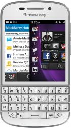 Telefon Mobil BlackBerry Q10 4G White Telefoane Mobile
