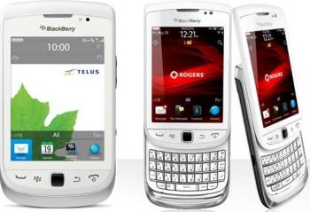 Telefon Mobil BlackBerry Torch 9810 White