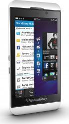 imagine Telefon Mobil BlackBerry Z10 White . bbz10wh3g_resigilat