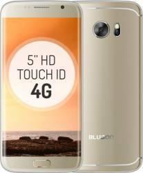 Telefon Mobil Bluboo Edge 16GB Dual Sim 4G Gold + Husa si Folie Sticla Telefoane Mobile