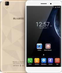 Telefon Mobil Bluboo Maya 16GB Dual Sim 3G White-Gold + Husa Silicon + Folie Sticla Telefoane Mobile