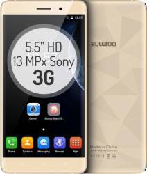 Telefon Mobil Bluboo Maya 16GB Dual Sim 3G Gold + Husa Silicon + Folie Sticla Telefoane Mobile