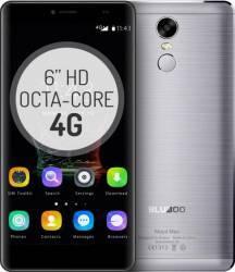 Telefon Mobil Bluboo Maya Max 32GB Dual Sim 4G Silver + Husa + Folie Sticla Telefoane Mobile
