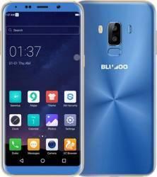 Telefon mobil Bluboo S8 32GB Dual SIM 4G Blue + Husa Silicon + Folie Sticla Telefoane Mobile