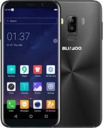 Telefon mobil Bluboo S8 Plus 64GB Dual SIM 4G Black + Husa Silicon + Folie Sticla Telefoane Mobile