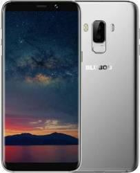 Telefon mobil Bluboo S8 Plus 64GB Dual SIM 4G Silver + Husa Silicon + Folie Sticla Telefoane Mobile