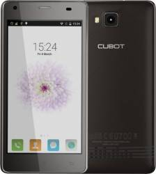 Telefon Mobil Cubot Echo 16GB Dual Sim Black + Husa Silicon si Folie Plastic Telefoane Mobile