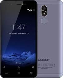 Telefon Mobil Cubot R9 16GB Dual SIM Blue + Husa si Folie Telefoane Mobile