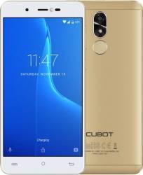 Telefon Mobil Cubot R9 16GB Dual SIM Gold + Husa si Folie Telefoane Mobile