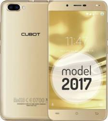 Telefon Mobil Cubot Rainbow 2 16GB Dual Sim Gold + Husa Flip si Folie de Sticla Telefoane Mobile