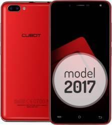 Telefon Mobil Cubot Rainbow 2 16GB Dual Sim Rosu + Husa Silicon si Folie Plastic + Husa Flip Telefoane Mobile