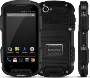 imagine Telefon Mobil Evolveo StrongPhone Q4 Dual SIM Black sgp-q4