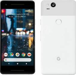 Telefon Mobil Google Pixel 2 128GB 4G White Telefoane Mobile