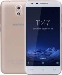 Telefon Mobil Hafury Mix 16GB Dual SIM Gold Husa+Folie Telefoane Mobile