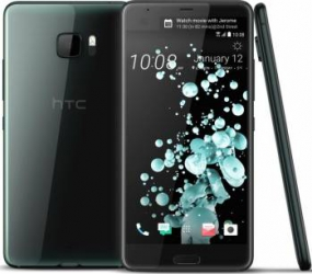 Telefon Mobil HTC U Ultra 64GB Single Sim 4G Brilliant Black Telefoane Mobile