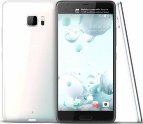 Telefon Mobil HTC U Ultra 64GB Single Sim 4G Ice White Telefoane Mobile