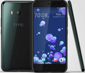 Telefon mobil HTC U11 128GB Dual SIM 4G Brilliant Black Telefoane Mobile