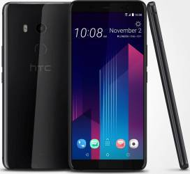 Telefon mobil HTC U11 Plus 128GB Dual SIM 4G Ceramic Black Telefoane Mobile
