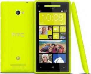 imagine Telefon Mobil HTC Windows Phone 8S Yellow. 76907_resigilat
