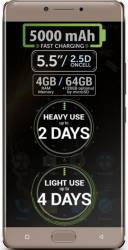 Telefon Mobil Allview P9 Energy Dual SIM 4G Dark Gold