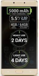 Telefon Mobil Allview P9 Energy Dual SIM 4G Gold Telefoane Mobile