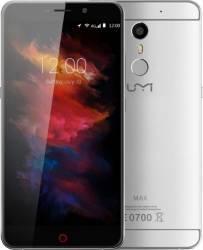 Telefon mobil UMI Max 16GB Dual Sim 4G Gray Resigilat